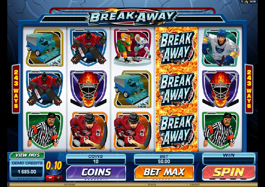логотип автомата онлайн Break Away Slot