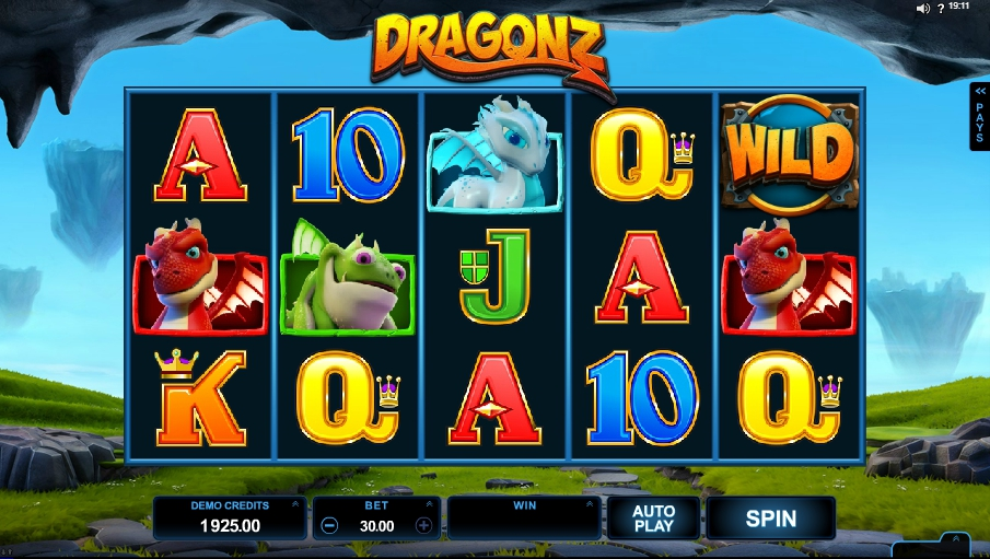 логотип автомата онлайн Dragonz Slot
