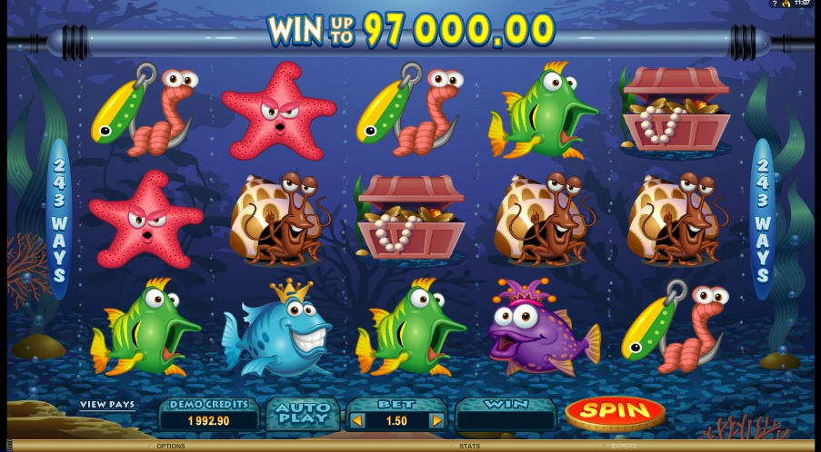логотип автомата онлайн Fish Party Slot