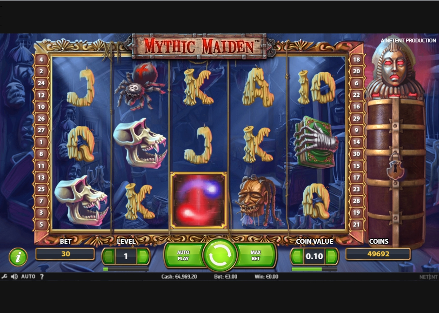 логотип автомата онлайн Mythic Maiden Slot