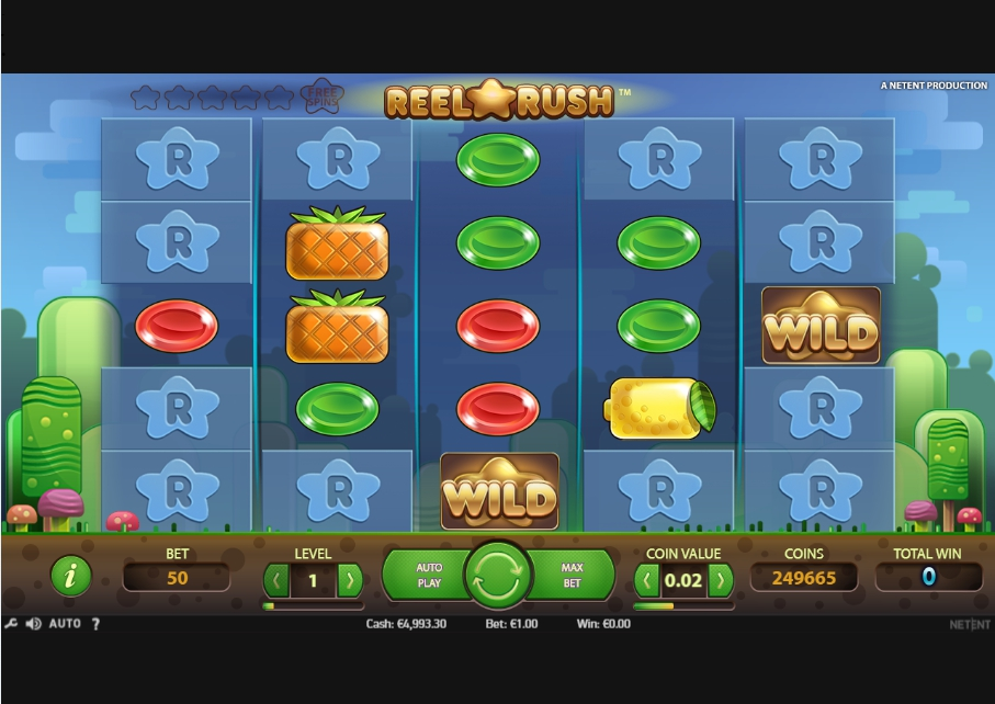 логотип автомата онлайн Reel Rush Slot