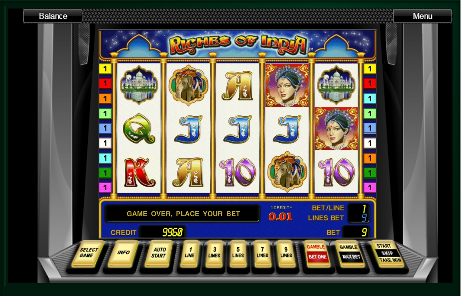 логотип автомата онлайн Riches of India Slot