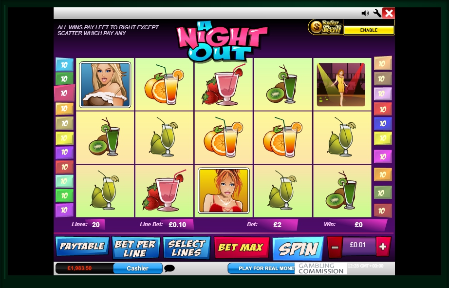 логотип автомата онлайн A Night Out Slot
