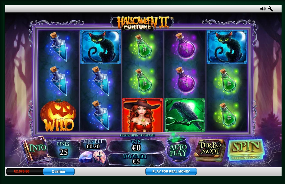 логотип автомата онлайн Halloween Fortune Slot