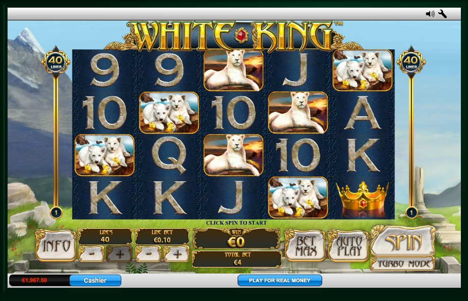 логотип автомата онлайн White King Slot